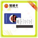 Cartão chave do hotel plástico do PVC do PVC de RFID com amostra livre