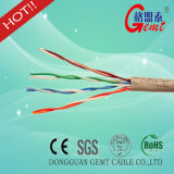 Cer ftp-Vernetzungs-Kabel Cat5e hergestellt in China