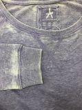 Pullover francese del Terry di stile semplice per le donne con il Burn-out