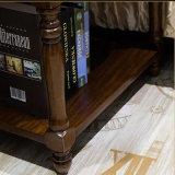 أسلوب [أمريكن] صلبة خشبيّة سرير حامل قفص لأنّ [هوم وفّيس فورنيتثر] [أس829]