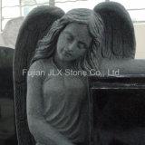 Engel van het Graniet van Shanxi de Zwarte met de Grafsteen van het Boek