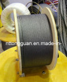 큰 주물 기중기에 사용되는 철강선 밧줄 8*25fi+FC