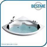 セクターの/Built-in小さいアクリルのWhirpoolの浴槽(BT-A1033)の角のシンプルな設計の低下