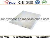 Panneau de marbre de PVC de modèle pour la décoration de plafond et de mur