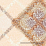 a figura geométrica Pigment&Disperse do leopardo 100%Polyester imprimiu a tela para o jogo do fundamento