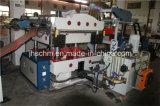 Papel/cuero/caucho automático/prensa hidráulica de la tela