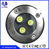 Indicatore luminoso sotterraneo impermeabile di alta qualità 3W 5W 9W 18W LED dell'acciaio inossidabile