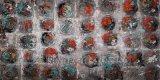 추상적인 장식적인 벽 예술 색칠