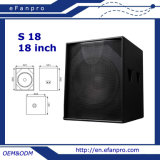 S18 18 pouces Subwoofer Sound Box Audio Woofer (TACT)