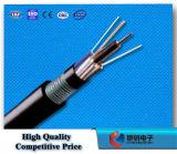 Cable óptico al aire libre enterrado directo