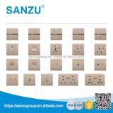 Madeira satélite da venda da parte superior do preço de fábrica todos os tipos de interruptor da parede