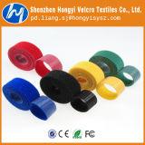 Ajustável Recyclable de volta ao laço traseiro de Hook& da cinta plástica de Velcro