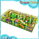 Спортивная площадка детей серии трансформаторов структуры игры пластичная напольная с Trampoline
