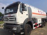 Caminhão do depósito de gasolina do caminhão de petroleiro do transporte do petróleo de Beiben 8X4 330HP