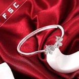 Form-Schmucksache-Doppelt-Basisrecheneinheits-hübsches Armband-Armband hergestellt mit CZ