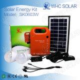 3W bewegliches Hauptsolar-PV Energie-Installationssatz-System