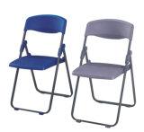 Einfacher Falz-Stuhl mit Metallrahmen