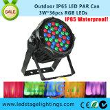 RGB LEIDEN PARI Lichte 3W*36PCS voor het Openlucht Gebruiken