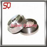Tornio di alluminio perforato su ordinazione che gira i pezzi meccanici di macinazione di CNC