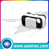 Sustentação vidros da realidade virtual 3D da caixa de Vr do telefone esperto de 4.7-6 polegadas mini