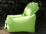 Faules faltbares aufblasbares Luft-Schlafensofa-Nylonbett für das Kampieren (M064)