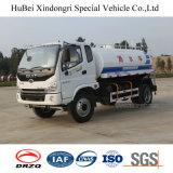 camion di Delievering Spinkler dell'acqua dell'euro 3 di 5cbm 5ton Lifan con il motore diesel