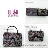 Ультрамодная миниая повелительница PU вышитые цепные кожаный сумки (NMDK-032902)