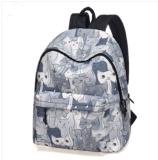 Trouxa selvagem simples da personalidade do saco novo do estudante da escola do saco de ombro 2017