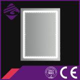 Retângulo Jnh183 decorativo que ilumina o espelho da prata do banheiro do diodo emissor de luz para o hotel