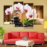 Nessun pitture di parete incorniciate del sofà delle stampe delle maschere della tela di canapa di arte della pietra del fiore