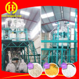 завод филировальной машины маиса стана мозоли 100t/24h для Замбии