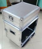 Tipo de alumínio caixa da madeira compensada da cremalheira com espaço 8u