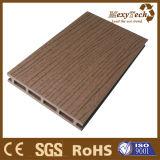 Plancher extérieur composé en plastique en bois antidérapage de Decking