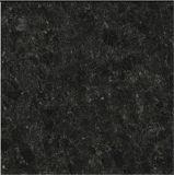 Azulejos de cerámica del piso del final de la chispa del granito negro con el SGS, ce