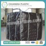 Большой Jumbo мешок контейнера сплетенный PP с черной тканью