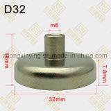 D32mm de Permanente Interne Klemmen van de Magneet van de Holding van de Draad, de Uitloper van de Magneet
