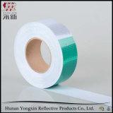Grüne weiße Kristallgitter-Bienenwabe-Retro reflektierende Band-Aufkleber
