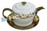 陶磁器テーブルウェア、コップは、真空イオンめっき機械、PVDイオンめっき機械を襲う