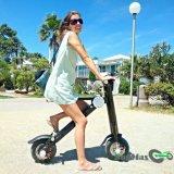 scooter 350W électrique pliable en aluminium avec la batterie au lithium