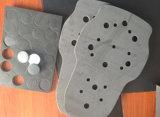 Embalagem da esponja de EVA alinhada