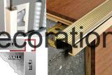 Les accessoires matériels de plancher de décoration serrent le bord de cornière de passage de connecteur de garniture de tuile