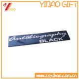 Etiqueta feita sob encomenda da forma do metal do chapeamento da alta qualidade do logotipo (YB-HD-135)