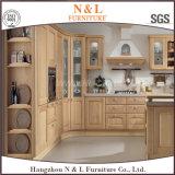 De houten Keukenkast van het Meubilair van de Keukenkast Stevige Houten