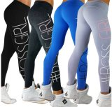 2017 Hot Trend Yoga Sports Leggings com impressão