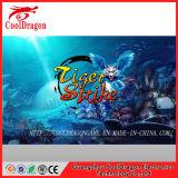 Vector experto del juego de los pescados de la huelga del tigre para el sitio del casino