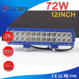72W 12 polegadas LED Light Work Farol Light Bar