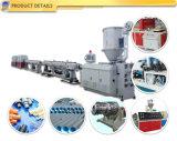 PVC二重繊維かアウトレットの管の機械を作るプラスチック生産の押出機