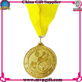 Medalha de Metal Silver Color Sports para Eventos