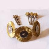 T-Tipo profissional escovas da roda do fio de aço da fábrica de China
