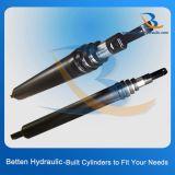 Длинноходовой телескопичный гидровлический цилиндр
